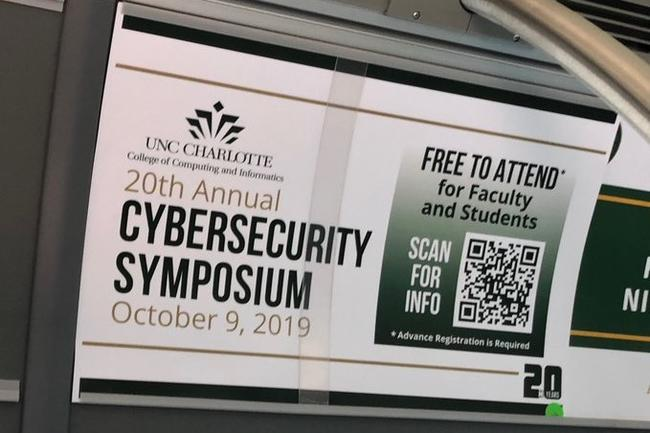 UNC- Charlotte Cybersecurity Symposium